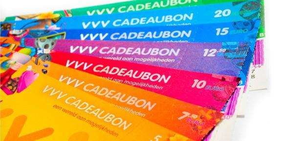 Waar kan je je VVV Cadeaubon inleveren